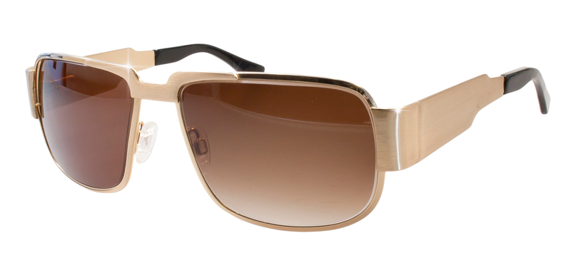 NAUTIC - the Elvis cult-sunglasses in gold color